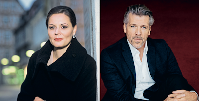 Melanie Diener and Thomas Hampson