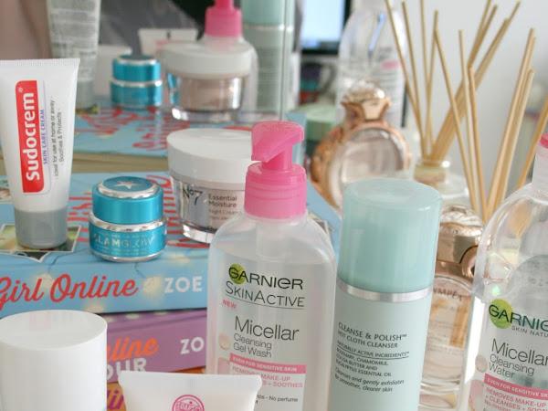 January's Skincare Menu