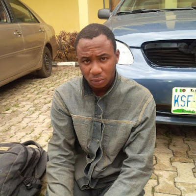 Photo: I killed my girlfriend for the fun of it- Suspected ritualist