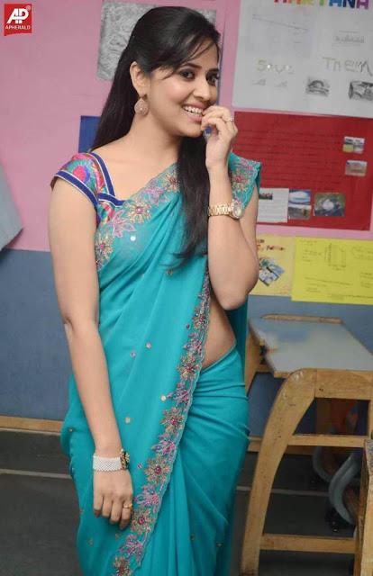 cute girl photo in sari