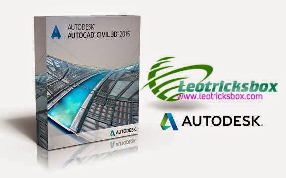 AutoCAD Civil 3D 2015 x64 + SP1 +Crack
