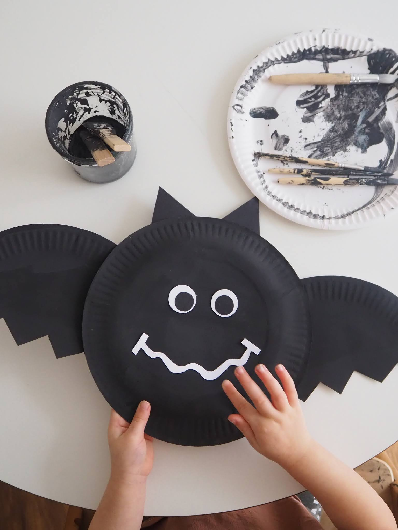 Toddler hallowen craft