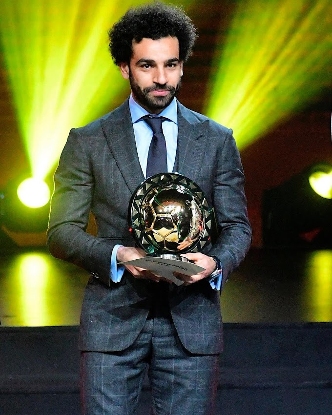 Salah Retains CAF African Player Of The Year
