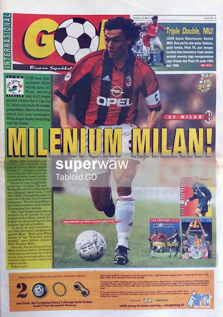 GOL INTERNASIONAL: MILENIUM MILAN!
