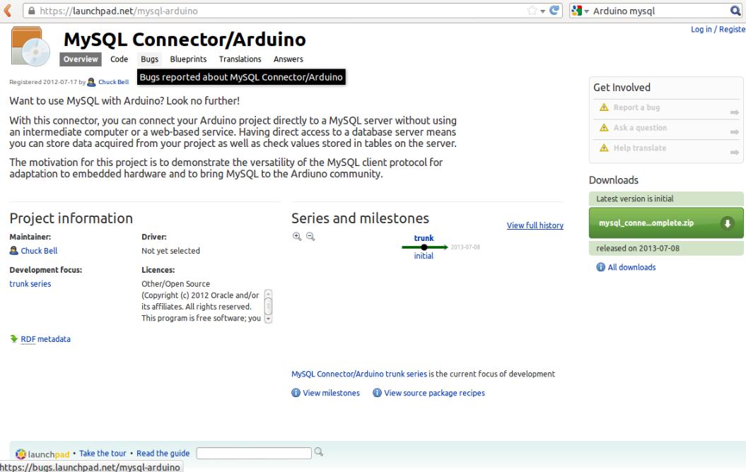 Microcontroller Embedded Design: Arduino MySQL connector