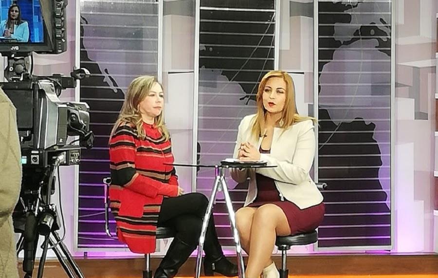 La diputada por Tarija en entrevista con Cadena A / POR TARIJA