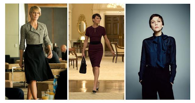 Героини сериалов в офисной одежде