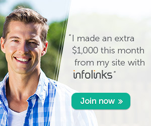 earn extra income with infolinks - join as now!