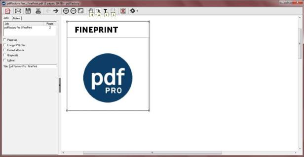 pdfFactory Pro Full 7.42+ Serial Key - Phần mềm chỉnh sửa file PDF