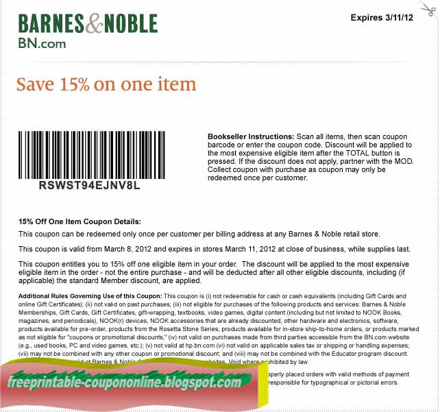 6. If you're ready to add a Barnes and Noble promo code to your online order, head to the shopping cart page. The entry box is under the order summary. Don't forget to activate Barnes and Noble cash back if the promo code doesn't qualify.