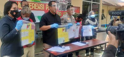 Polda NTB Ringkus Dua Pelaku Perdagangan Orang Satu Buron