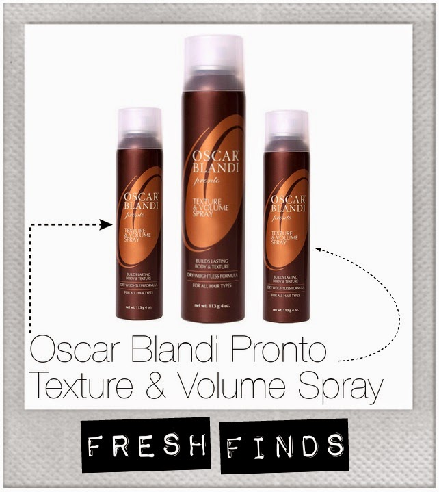 Oscar Blandi Pronto Texture Volume Spray hair tousled Birchbox beauty
