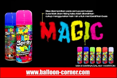 Snow Spray Warna Warni
