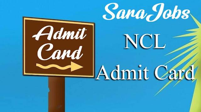 NCL Admit Card