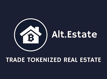 Alt.Estate ICO: ALT Token Real Estate Tokenized Marketplace