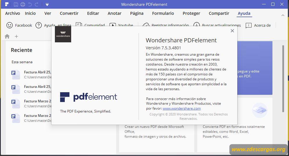 PDFElement 2020 Full Español