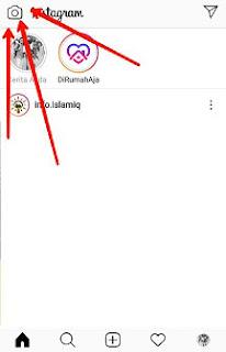 cara mengganti background instagram question