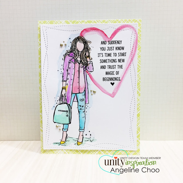 ScrappyScrappy: [NEW VIDEOS] Angie Girls, Roses and Magic with Unity Stamp #scrappyscrappy #unitystampco #card #cardmaking #watercolor #pasteldreams #papercraft #quicktipvideo #youtube #video