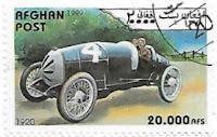 Selo Carro de corrida de 1920