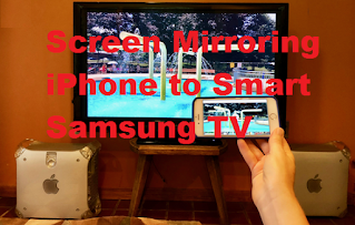 How to Screen Mirror Iphone To Samsung TV, See this