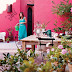 Amazing idea for a pink patio