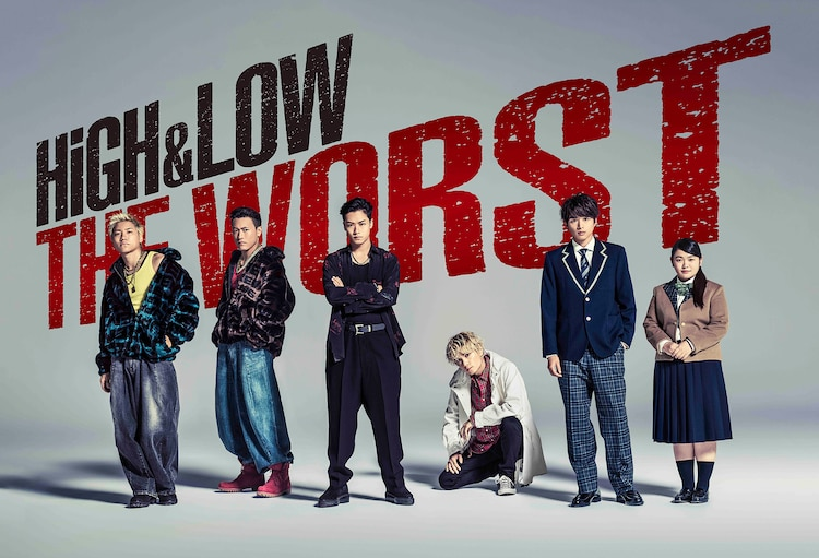 Dorama Spin-off HiGH & LOW THE WORST Akan Tayang November