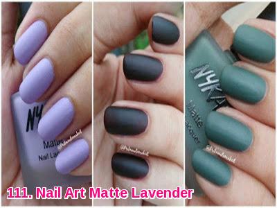 Nail Art Matte Lavender