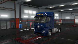 european logistics companies paint jobs pack screenshots 7, dachser
