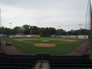 Home to center at New Britain Stadium
