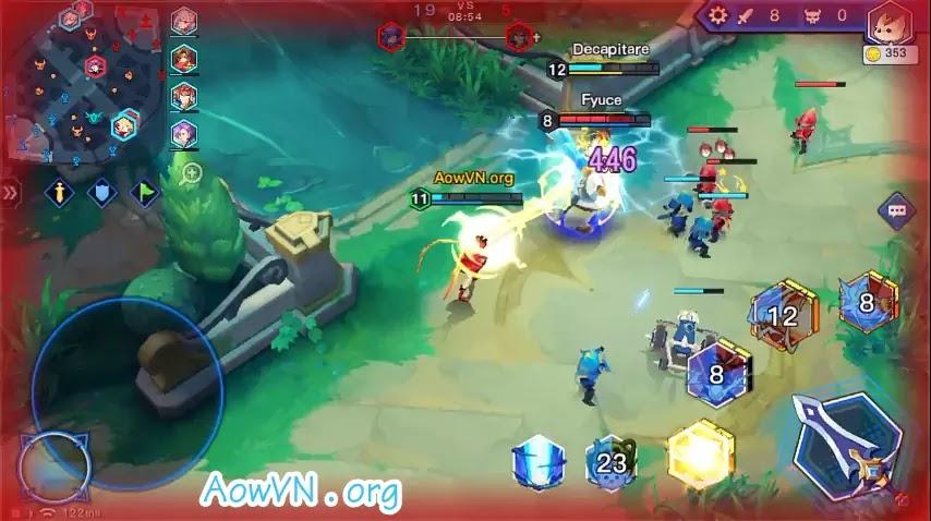 AowVN.org moba anime%2B%252820%2529 - [ HOT ] Moba Anime 2 - Light X Shadow | Android IOS - Game MOBA cực hay , đồ họa đẹp
