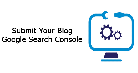 submit blog in Google search engine console Image