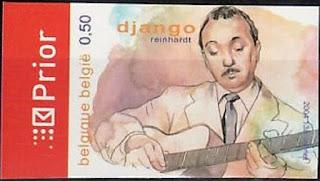 Belgium Music, Jazz, Guitarist Django Reinhardt