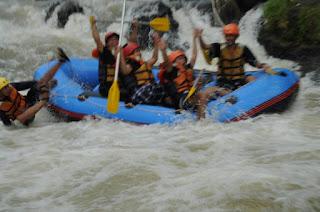 Tempat Rafting Bogor