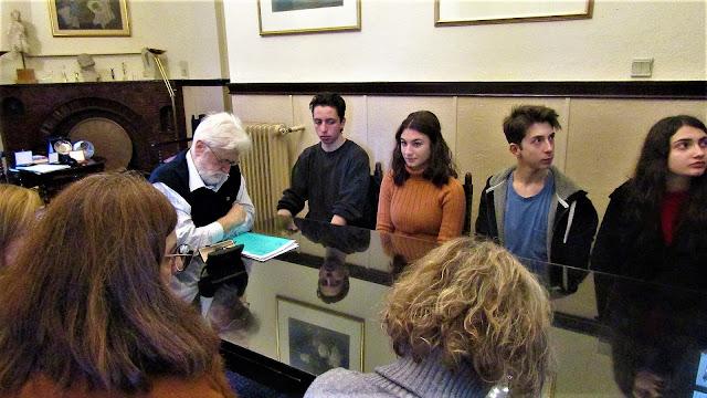 Ιωάννινα:Συνάντηση του Δημάρχου  με αντιπροσωπεία του Μουσικού Σχολείου