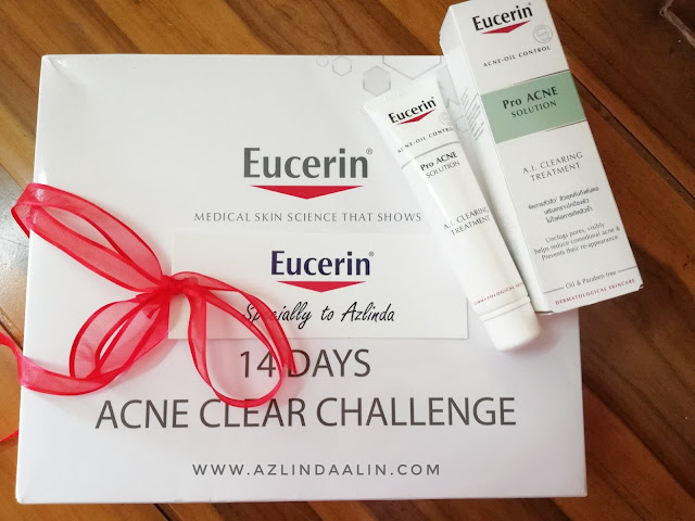 SAY NO TO JERAWAT ! Eucerin® ProACNEa A.I Clearing Treatment 14 Days Challenge