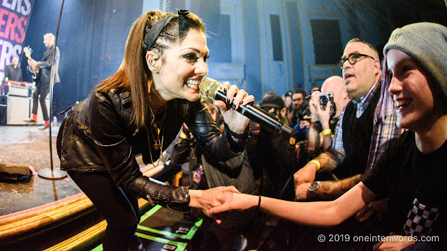 The Interrupters at The Danforth Music Hall on March 22, 2019 Photo by John Ordean at One In Ten Words oneintenwords.com toronto indie alternative live music blog concert photography pictures photos nikon d750 camera yyz photographer