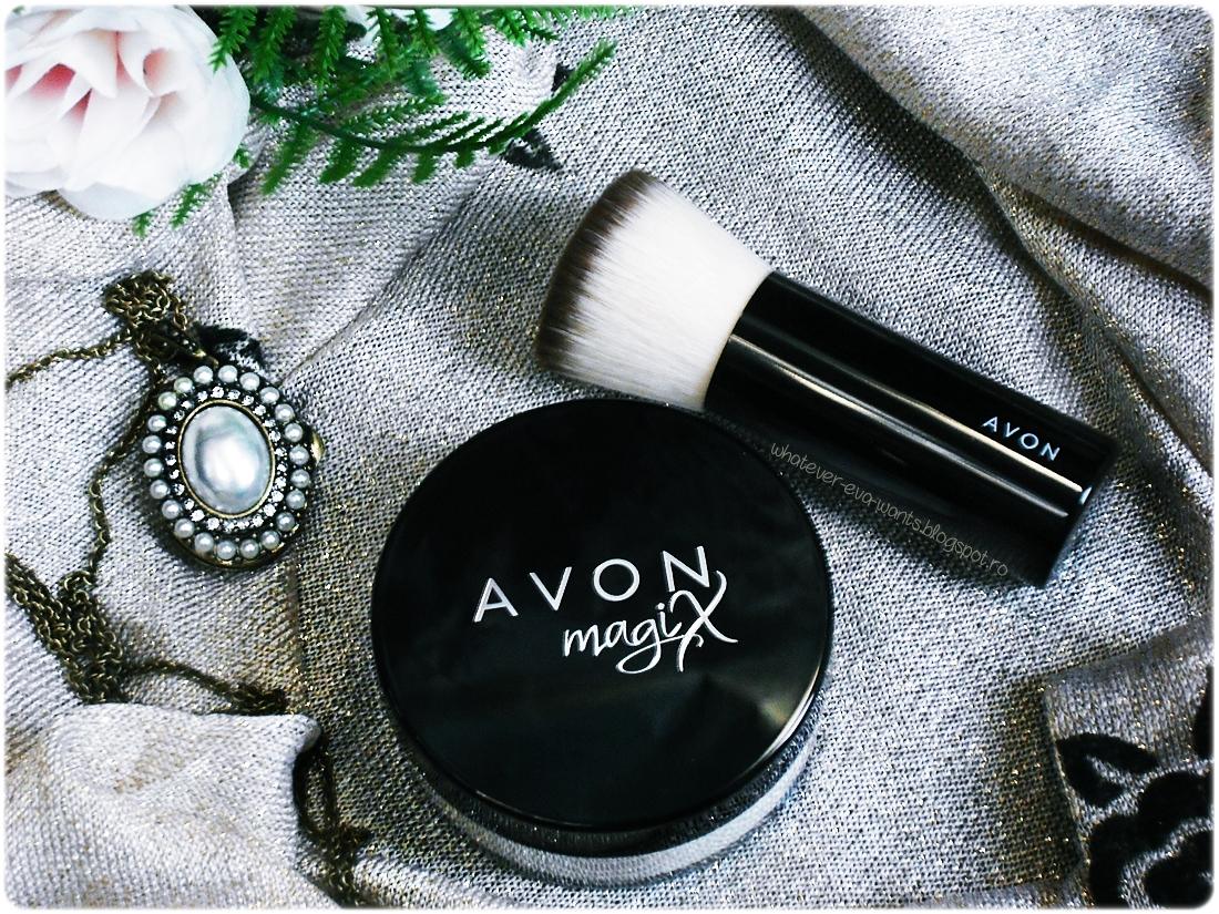 Avon Mark MagiX HD Finish Powder - review male-up pareri