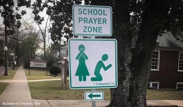 Resultado de imagen para En Carolina Del Sur Eeuu Establecen Zona De Oración Junto A Escuelas.