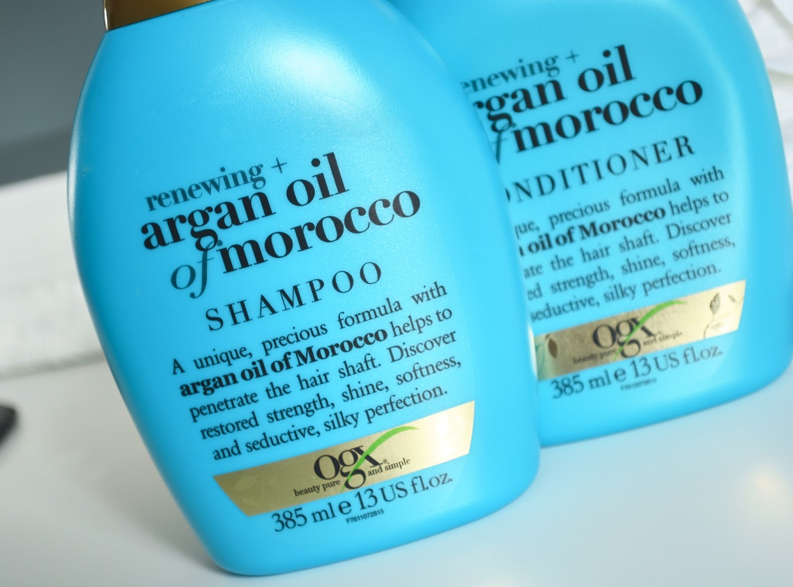 OGX Renewing Argan Oil of Morocco Shampoo & Conditioner