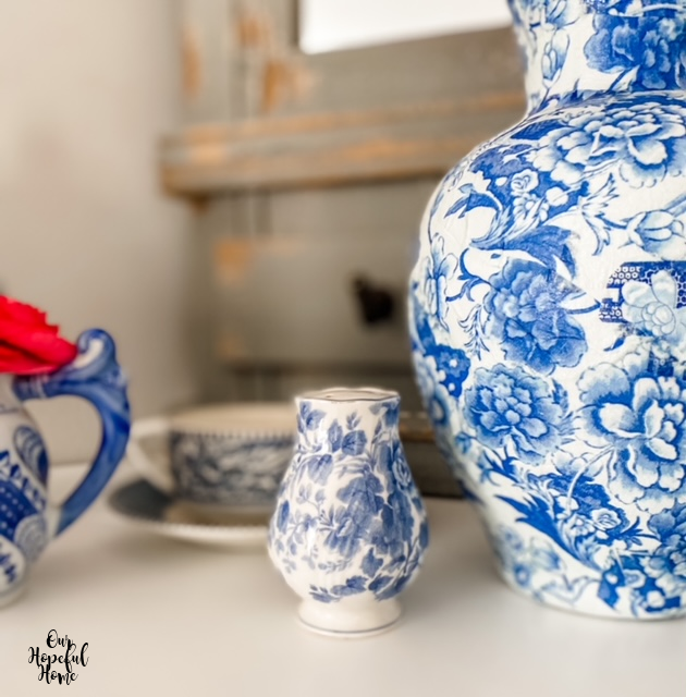 blue white porcelain china collection