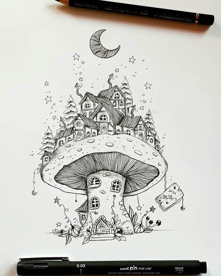 03-A-village-on-a-mushroom-Martina-Arend-www-designstack-co