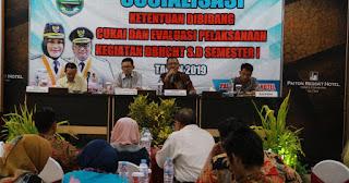 Sosialisasikan Ketentuan Bidang Cukai dan Evaluasi Kegiatan DBHCHT