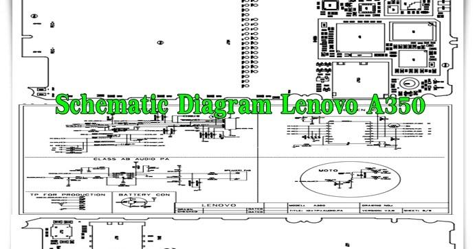 Schematic Diagram Lenovo A350