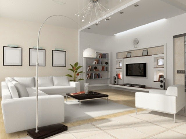 Minimalist Living Room Arrangement