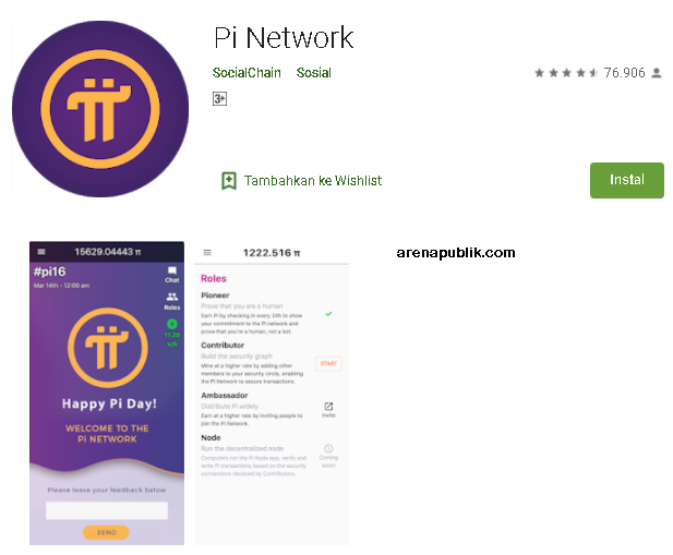 Pi Network Pesain Bitcoin