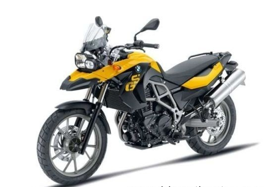 auto world: bmw launched f650gs on-off road touring motorcycle
