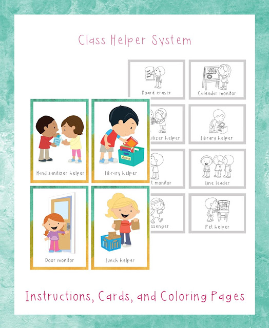 https://www.teacherspayteachers.com/Product/Class-Helper-System-3007526