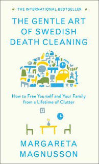 Book cover for The Gentle Art of Swedish Death Cleaning by Margareta Magnusson