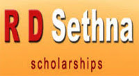 R D Sethna Loan Scholarship 2020
