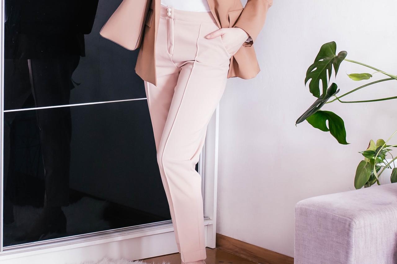 7 sposobów na.. {pastelowo różowe spodnie}